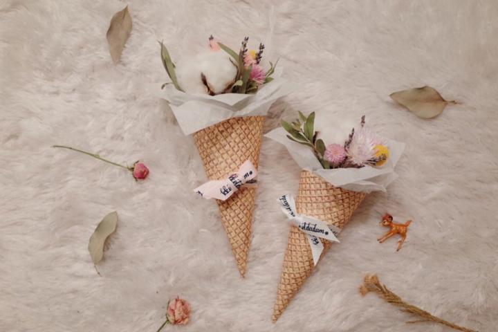 아이스크림 꽃 드세요! 15개 한정!
