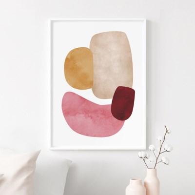 미뇽 추상화 그림 인테리어 액자 포스터