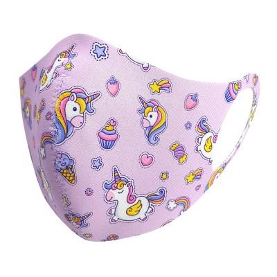 워너비굿즈/ 구리사 항균 유아동 패션마스크 532.핑크 유니콘