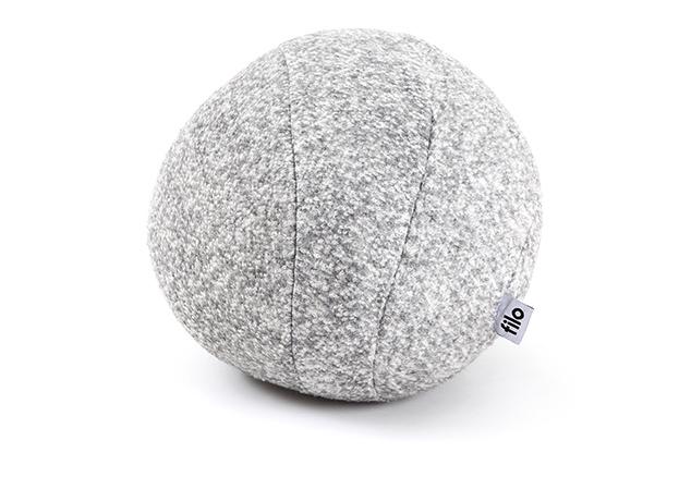 filo Amber 필로 앰버 돌멩이쿠션/쿠션 (XS) gray