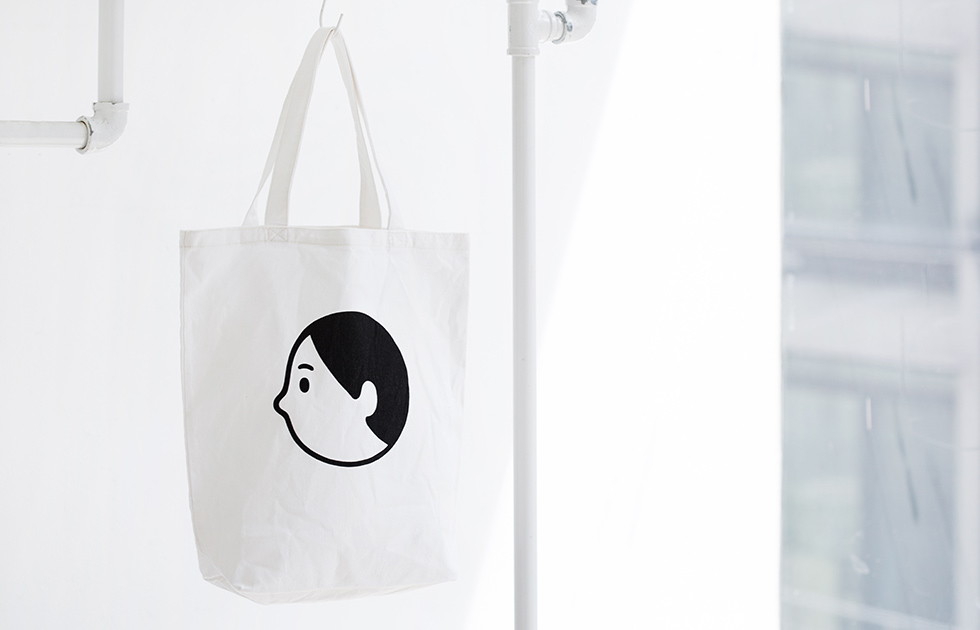 #FALL IN LOVE #OPEN EYES #TOTE BAG #에코백 #FACE #ILLUSTRATION #SIMPLE #SENSIBIL