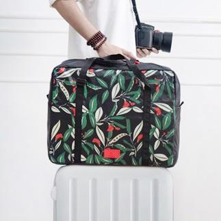 이비자 플라워 나이트 여행용 캐리어 보조가방 더플백