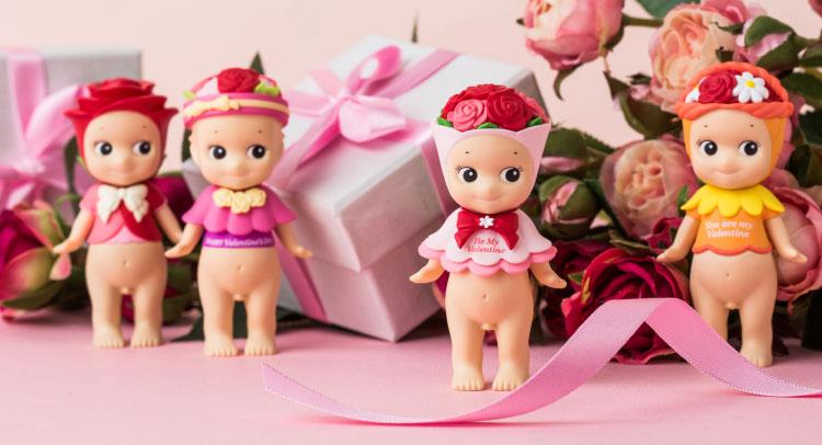 장미 한 송이로 전하는 발렌타인데이