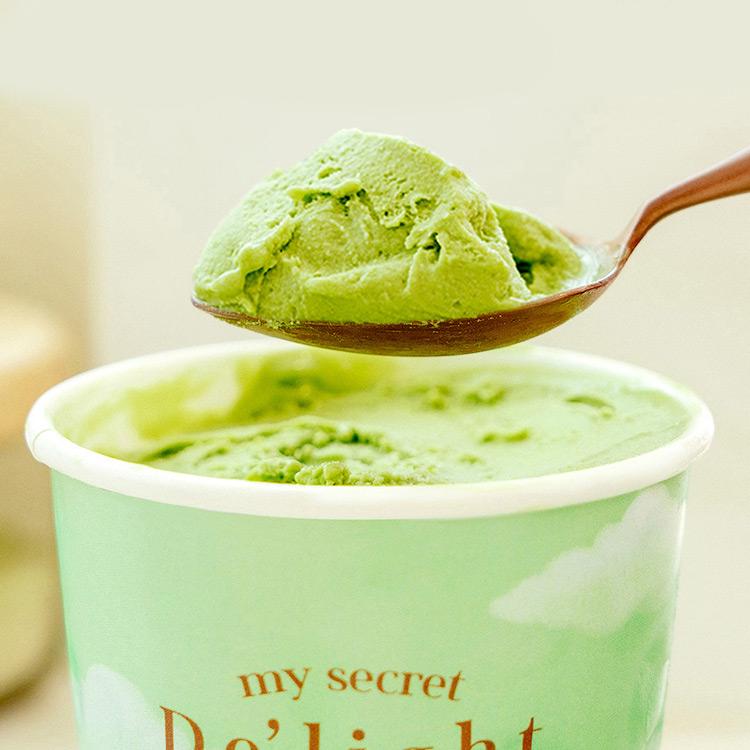 아이스크림 한 통을 다 먹어도 100kcal!