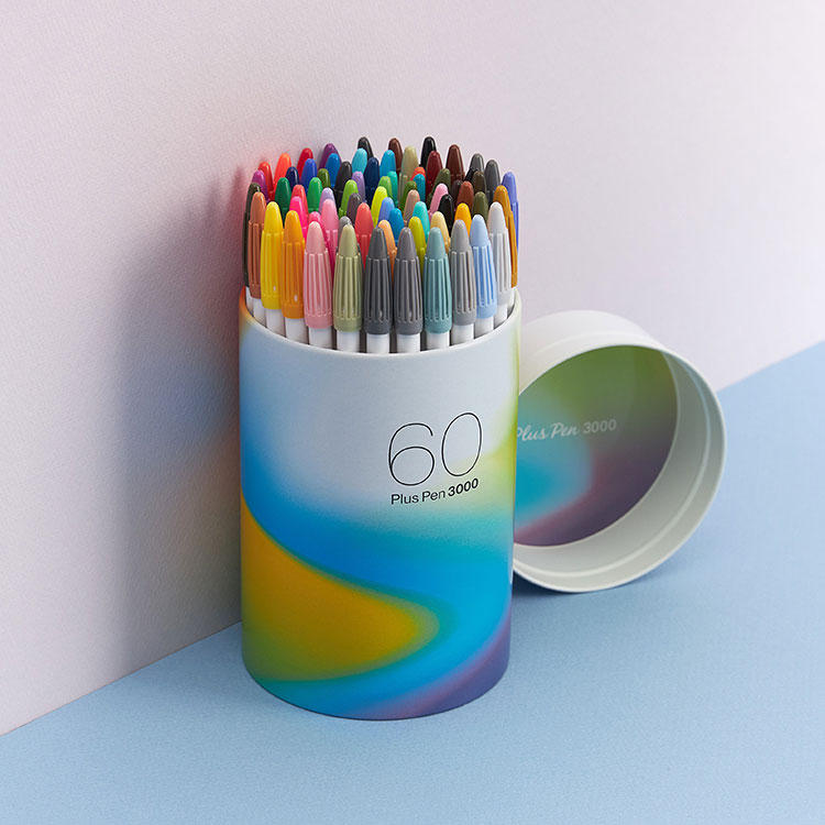 [품절대란] 플러스펜 60색 세트 출시!