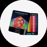프리즈마 유성색연필 48색