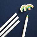 Rainbow Pencils (������ ���� 5 set) - white