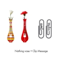 [������ �� Event] Nothing vase & Clip message 2pcs