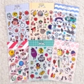 POMPON STICKER SET 01~06
