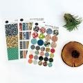 Deco vintage sticker Ver.3
