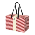 PLUSBOX GIFT BAG (Red stripes)