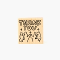 [AIUEO] AIUEO STAMP - KUMA THANK YOU