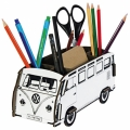 Pencil box-artist bus