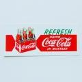 [코카콜라]REFRESH 로고 스티커