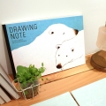 Polar Bear drawing note