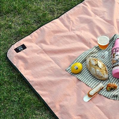 summerlike babypink picnic mat