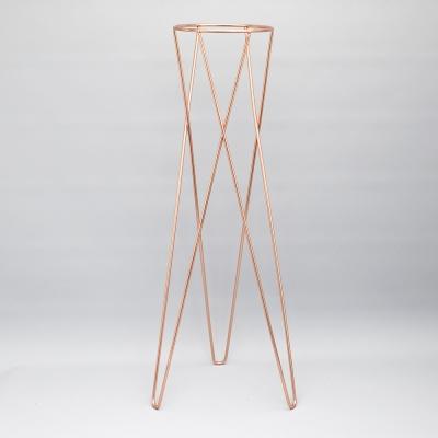 샤이니 화분 스탠드(H)-14.5(Ø) x 60cm