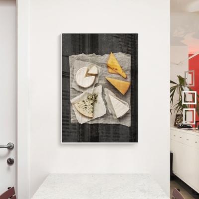 메탈 모던 카페 주방 사진 인테리어 포스터 액자 치즈