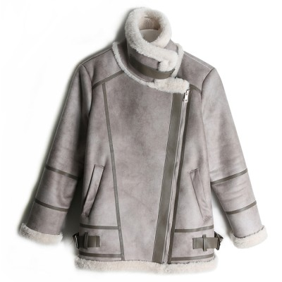 DE LUD LEATHER MUSTANG (GRAY)
