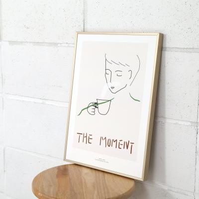 the moment 커피 주방 포스터