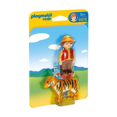 플레이모빌 1.2.3 사육사와 호랑이(6976)