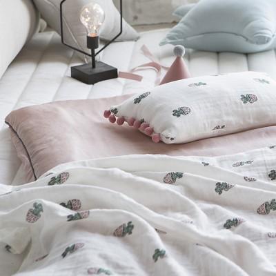 베리 핑크 풍기인견 여름 낮잠이불