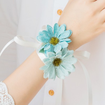 순수한 데이지 꽃팔찌(1+1) [4color]_(515913)