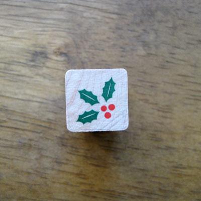 [크리스마스]미니호랑가시나무 스탬프