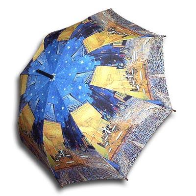 [ART] Hello RainCats 밤의 테라스 자동우산