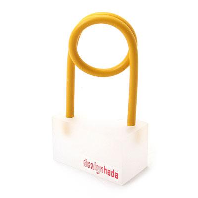 옷핀 메모홀더(Yellow)