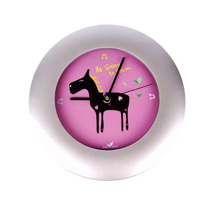 아트벽시계(말)