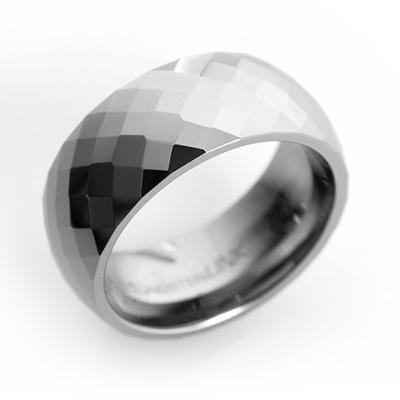 바스카 텅스텐 블링블링 반지
