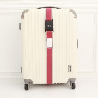 여행가방 보호벨트 - 3다이얼 - 와인