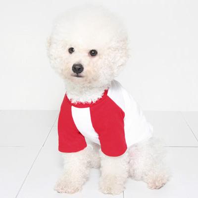 라그랑티셔츠 (white-red) Raglan