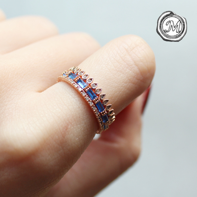 씨스톤 3타입 반지 sea stone ring 3 set(3types)