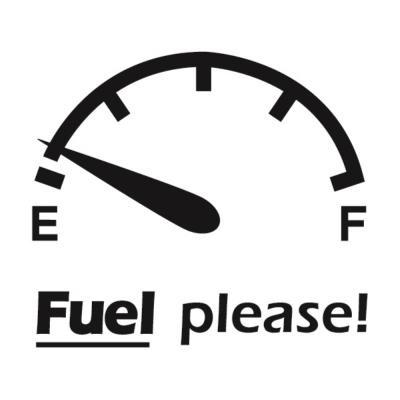자동차스티커_fuel please_주유구