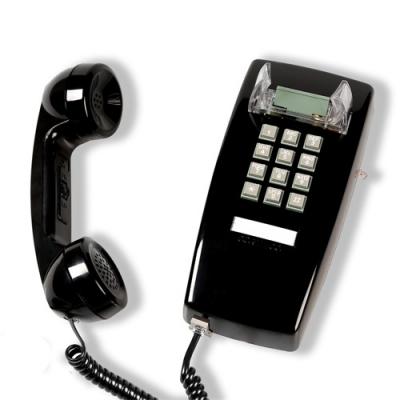 [코텔코] 오리지널 빈티지 벽걸이 유선전화기 블랙