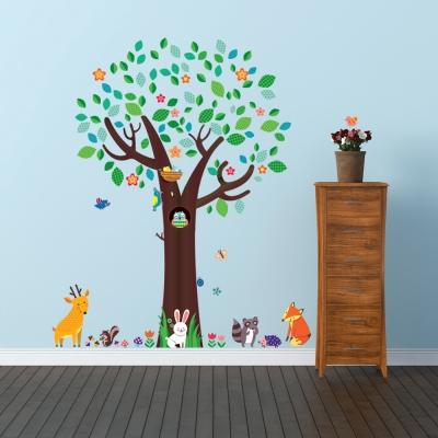 큰 나무와 동물 친구들 DA-1312N