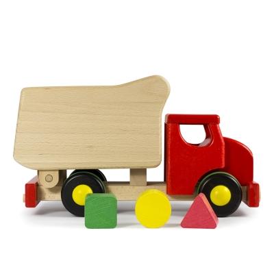 [바조]나무장난감_팁 트럭