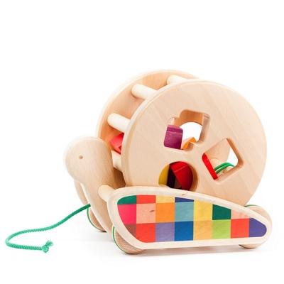 [바조]나무장난감_달팽이 풀어롱토이