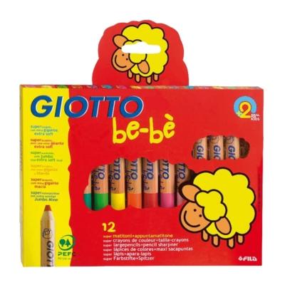 지오토 베베-나무색연필(Bebe색연필)-12색