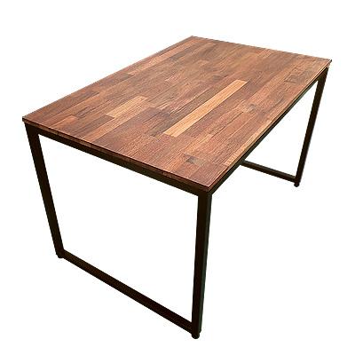 멀바우 철제 테이블