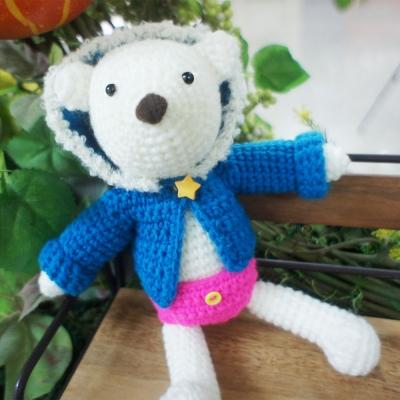[아이한코] 곰둥이 뽀글점퍼 (DIY 패키지)