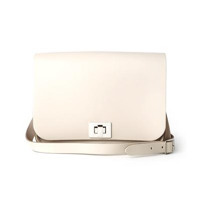 Cloud Cream Medium Pixie Bag