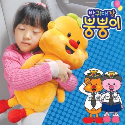 뿡뿡이 안전벨트인형/어린이/유아/카시트/캠핑/베개/쿠션/가드