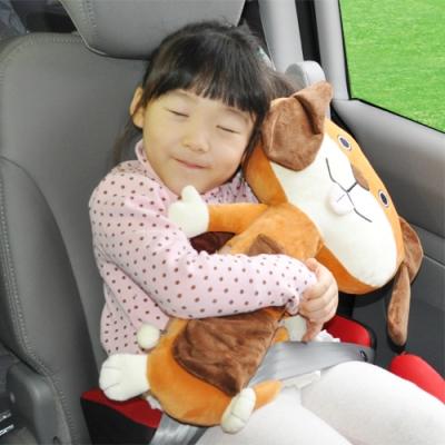 애니벨트/어린이안전벨트인형+가드기능/뿡뿡이/토끼/강아지/카시트