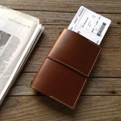 천연가죽 여권커버 [번트 오크] / Passport folder [Burnt Oak]