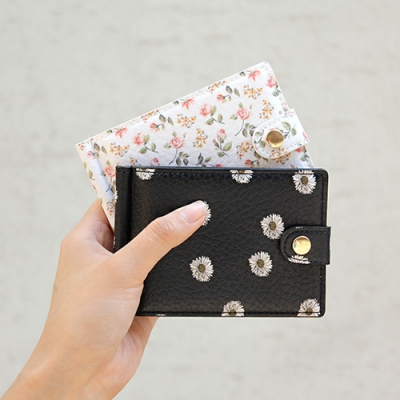D.LAB Flower pattern money clip - 4 type