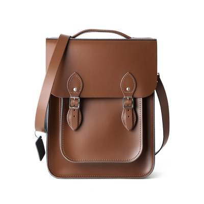 Chestnut Brown Portrait Style Backpack