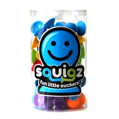 스퀴즈(squigz) - 스타터세트 - 실리콘블럭,치발기, 유아장난감